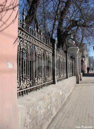 Ограда с воротами, XIX в., городская усадьба