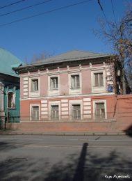 Западный (двухэтажный) флигель, XIX в., городская усадьба