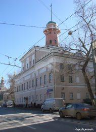 Городская усадьба (после 1818 г. — Рогожская полицейская часть), XVIII в. — XIX в.