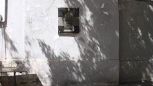 Фрагмент кладки колокольни храма Николы Явленного, XVII в.