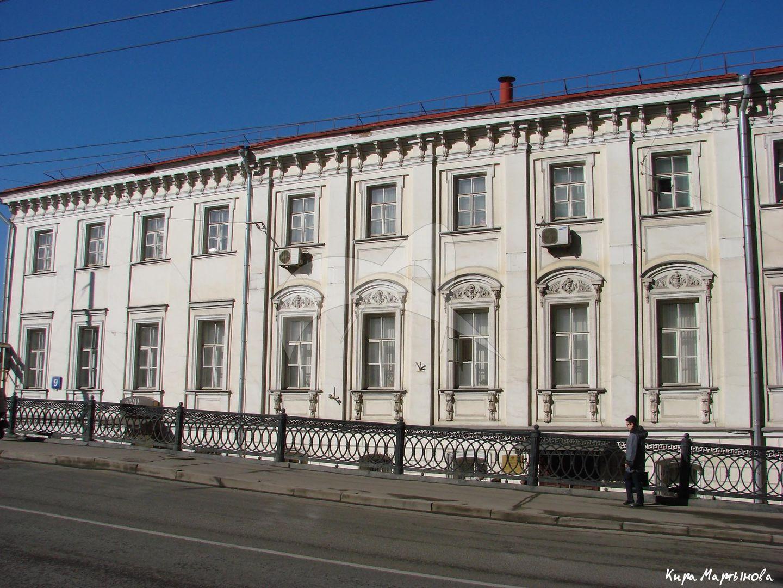 Жилой дом, конец XVIII в., арх. М.Ф. Казаков