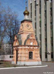 Часовня-памятник над могилой А.А. Смирновой, 1893 г., арх. И.Г. Владимиров, Скорбященский монастырь