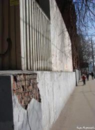 Фрагменты ограды, Скорбященский монастырь