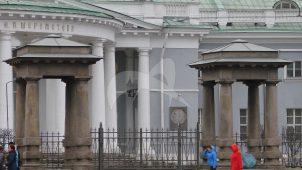 Ворота, Странноприимный дом Шереметева, 1792-1810 гг., арх. Е.С. Назаров, Д. Кваренги