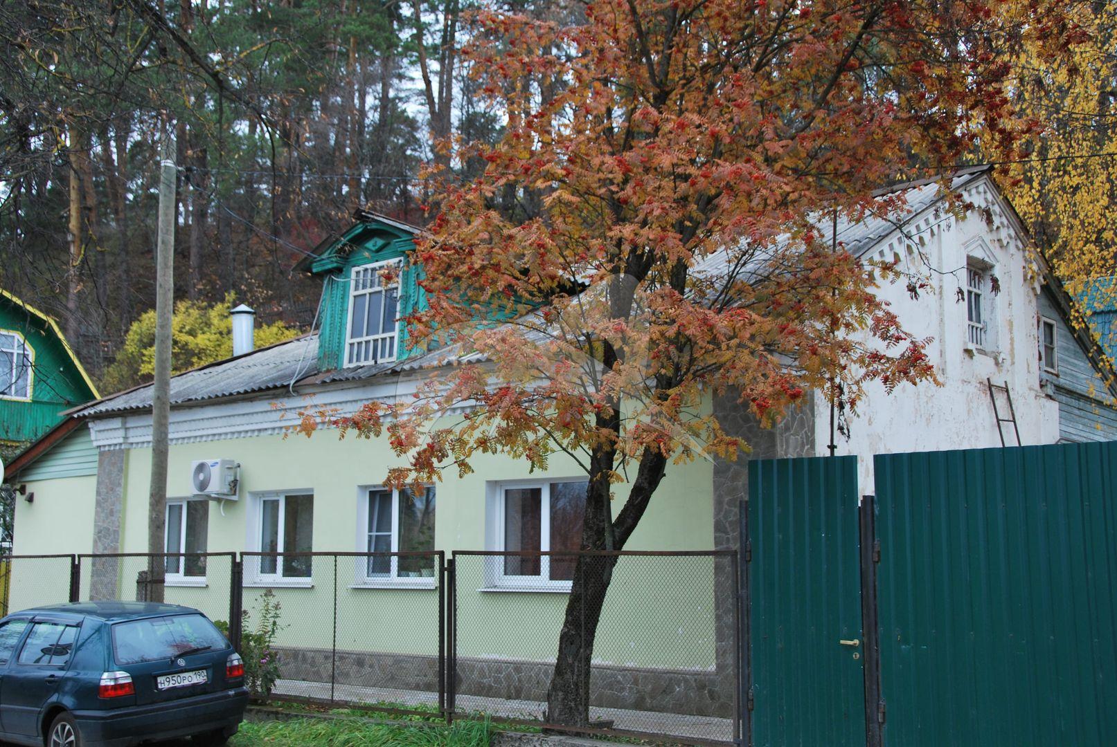 Комплекс застройки ул.Саввинской: дом Глазова-Пузыркина
