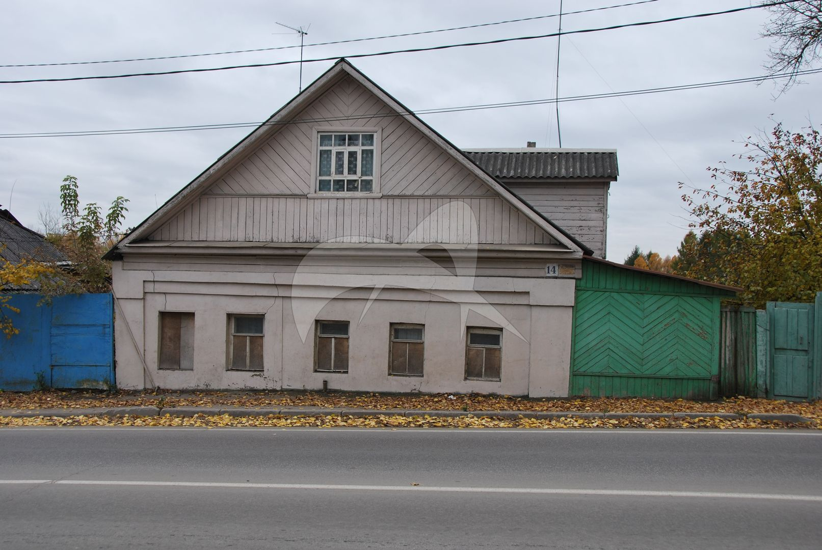 Комплекс застройки ул.Саввинской: дом М.И. Евменова