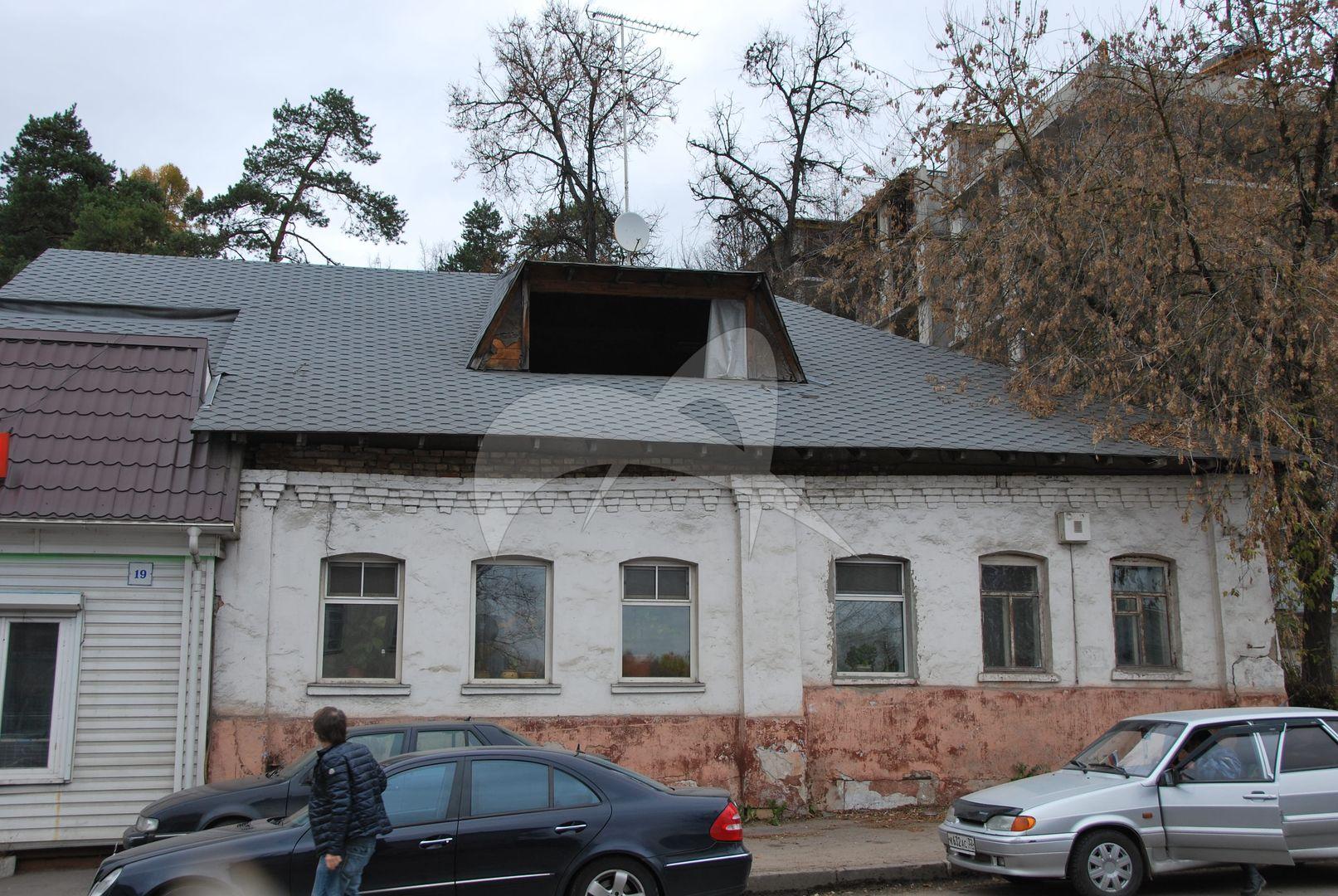 Комплекс застройки ул.Саввинской: дом Н.И. Субботина