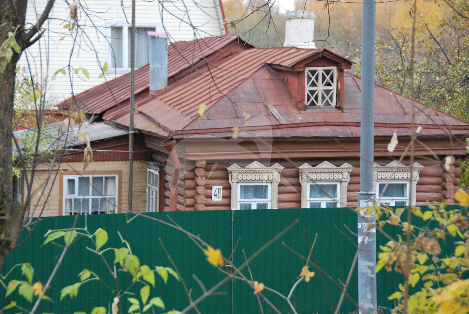 Комплекс застройки Кожевенной улицы (Фрунзе ул., 37-48): дом А.В. Коробова