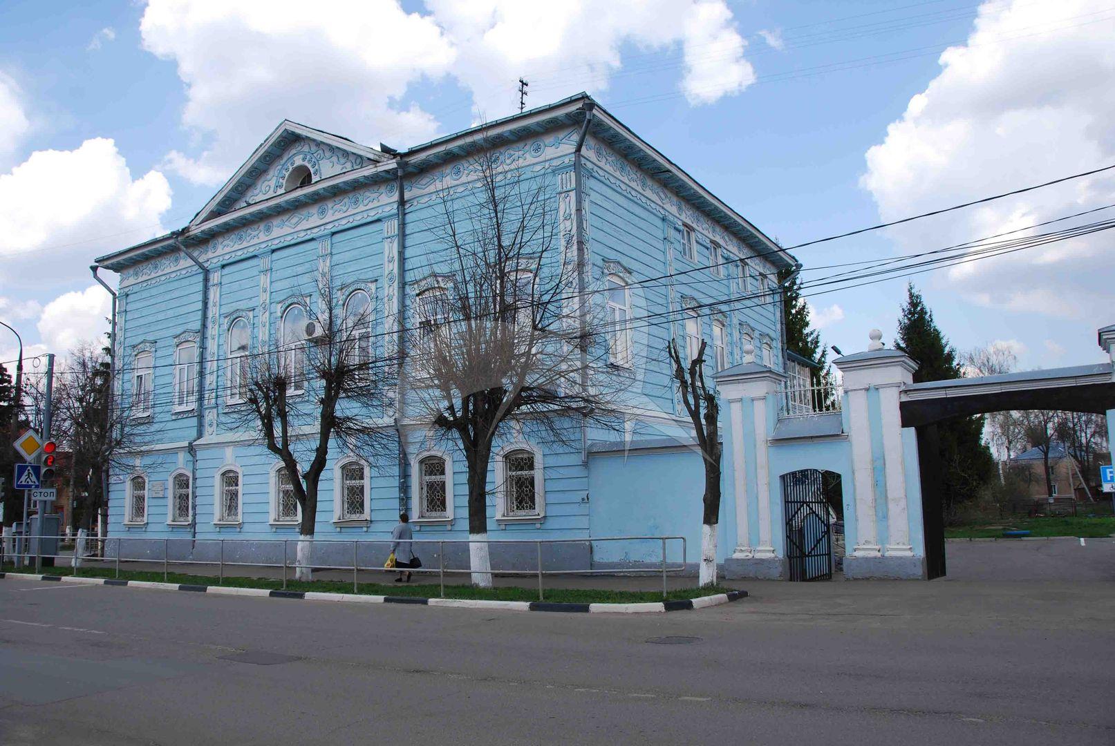 Дом, в котором жил поэт-революционер Г.А. Мачтет, перваяполовина XIX в., 1891-1895 гг.