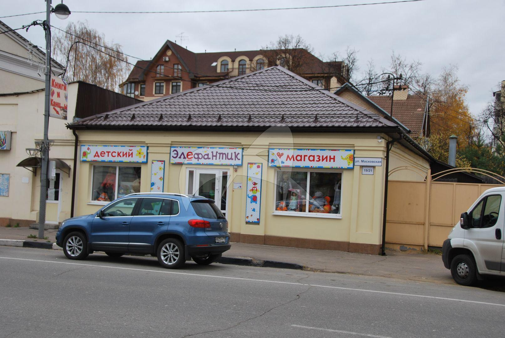 Комплекс застройки восточной части ул. Московской: магазин