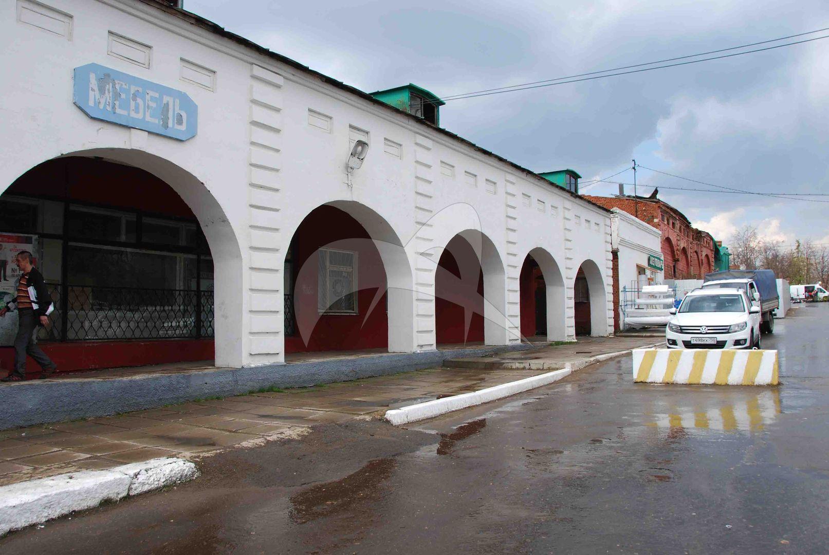 Гостиный двор, конец XVIII в., XIX в.