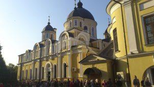 Воскресенская церковь, 1853-1859 гг., Покровский монастырь