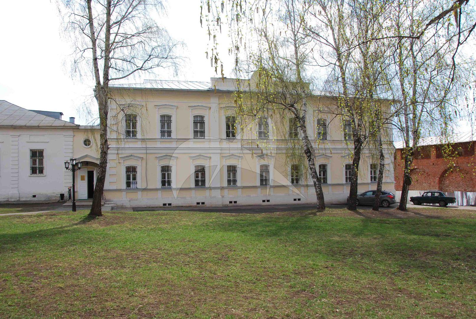 Здание присутственных мест, конец XVIII в., Ансамбль Зарайского кремля