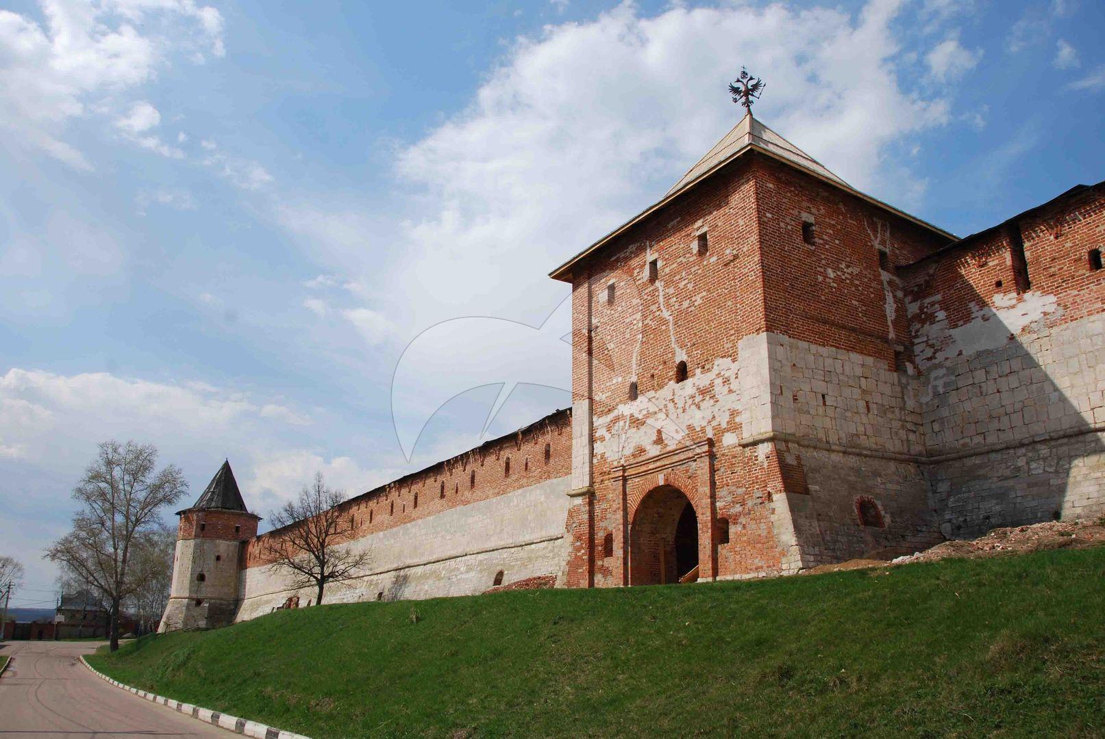 Спасская башня,  1531 г., Ансамбль Зарайского кремля