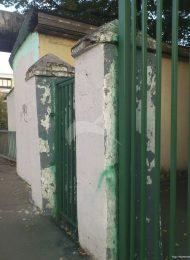Ограда, особняк С.К. Тронше