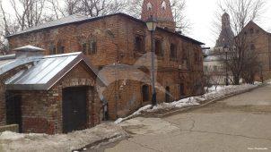 «Старая» трапезная, XVI в., Симонов монастырь