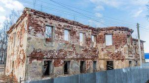 Главный дом, 2-я половина XVIII в., перестроен в XIX в., усадьба «Успенское» («Пороховой завод»)