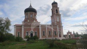 Церковь Воздвижения Животворящего Креста Господня, 1855 г.