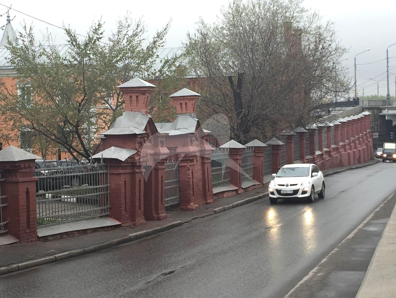 Ограда и сторожка, 1896-1898 гг., арх. М.К. Геппенер, главная насосная станция