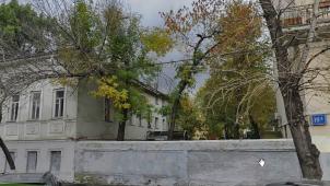 — Ограда, 2-я половина XIX в., Главного дома городской усадьбы — Фряновской шерстопрядильной мануфактуры Г.В. и М.В.Залогиных