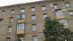 Дом, в котором в квартире № 25 в 1948-1958 гг. жил, работал поэт Н.А.Заболоцкий