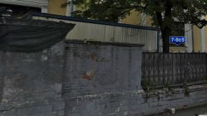 — Ограда главного дома городской усадьбы П. А. Зубова, середина XIX в.