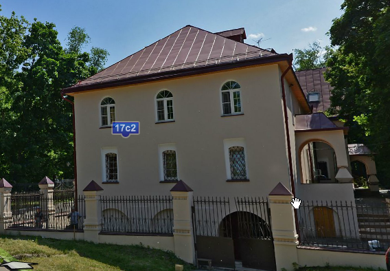 Дом причта церкви Ильи Пророка, XIX в. в Черкизове