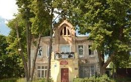 Дом жилой купца ХаритоноваЕ.Х. с торговыми лавками, 1908 г.