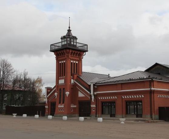 Депо, комплекс пожарного депо, начало ХХ в.