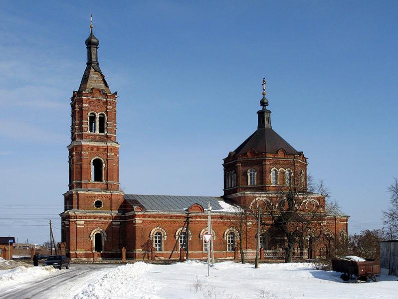 Церковь Рождества Пресвятой Богородицы с оградой, 1865-1877 гг.