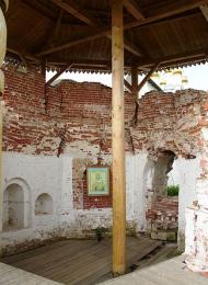 Колокольня (основание), ансамбль Иосифо-Волоцкого монастыря, ХVI-ХVII вв.