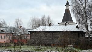 Амбар медовый (деревянный), ансамбль Иосифо-Волоцкого монастыря, ХVI-ХVII вв.