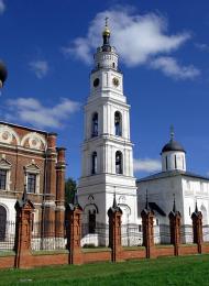 Колокольня Воскресенского собора, 1880-е гг.