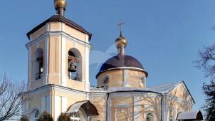Церковь Знамения с колокольней, 1769 г.