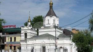 Церковь благоверного князя Александра Невского, 1902 г., арх. Л.Н. Шаповалов