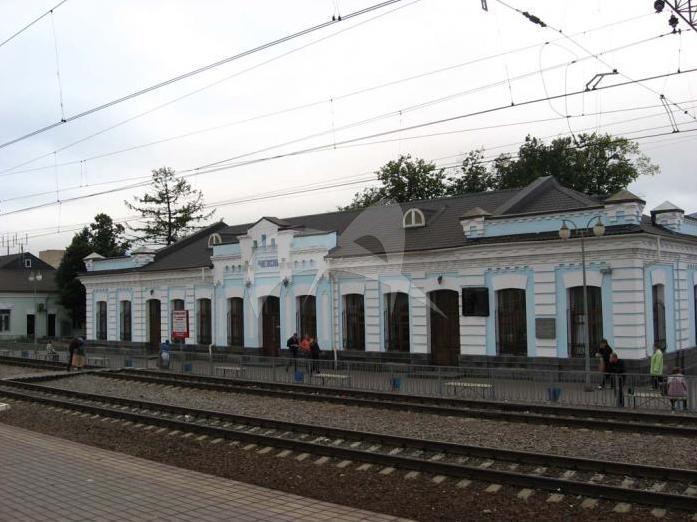 Вокзал железнодорожный, кон.XIX-нач.ХХ вв.