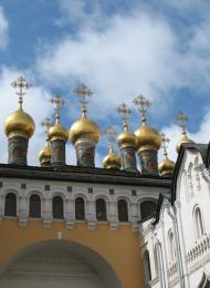 Церковь Воскресения, XVII в., ансамбль Московского кремля
