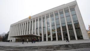 Кремлевский Дворец съездов, 1959-1961 гг., авторский коллектив под рук. М.В. Посохина