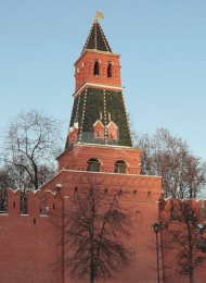 Вторая Безымянная башня, ансамбль Московского Кремля