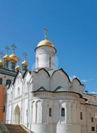 Церковь Ризоположения, 1485-1486 гг., построена псковскими мастера