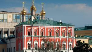 Потешный дворец, 1651 г., ансамбль Московского Кремля