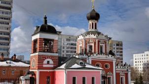 Церковь Троицы Живоначальной в Коньково (Сергиевский), 1690-1694 гг.