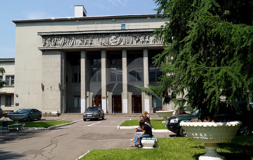 Дом культуры «Правда», 1937 г., арх. Н.М. Молоков, Н.Д. Чекмотаев