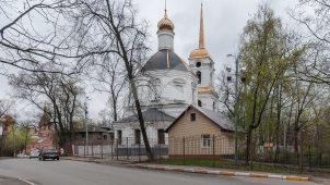 Церковь Бориса и Глеба, 1730 г.