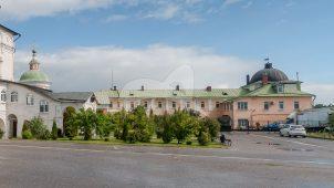 Здание гостиницы, ансамбль Белопесоцкого монастыря, XVII в.