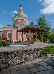 Церковь Сергия Преподобного, ХVII в., ансамбль Белопесоцкого монастыря