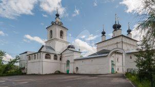 Ворота, 1865 г., Стены ограды, ХVII в., ансамбль Белопесоцкого монастыря