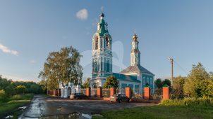 Троицкая церковь, 1765 г. , конец XIX в., усадьба «Щапово»