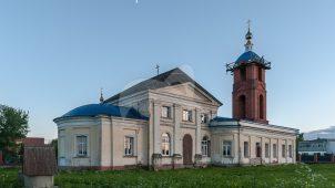 Церковь Успения Пресвятой Богородицы, 1715 г., 1801 г.