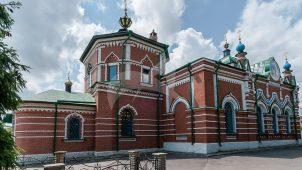Церковь Рождества Пресвятой Богородицы, 1703-1704 гг., трапезная 1894-1896 гг.